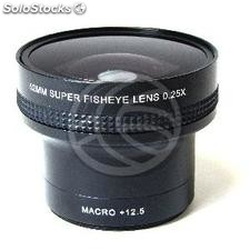 0.25X Fisheye lens mount 52mm macro 12.5X (JC93)