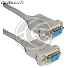 0.5m vga Cable (HD15-h/h) (VS61)