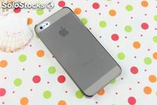 0.5mm ultra thin hard case plastico funda carcasas para iphone 5 iphone5