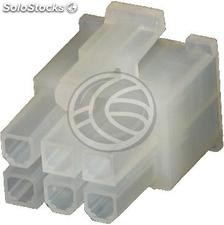 0039012060 molex Power Connector 2x03-Pin (Male Housing) (MX03)