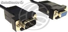 1.0m vga Cable (HD15-m/h) (VS42)