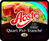 1/4 18 tranches jambon nature 220G aoste