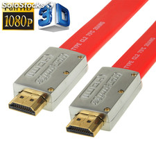 1.4 Versión, hdmi a hdmi 19Pin cable, Soporte Ethernet, 3D, hd tv / xbox 360 /