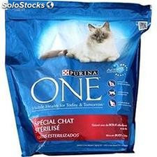 1.5KG croquettes boeuf/ble chat sterilise purina one