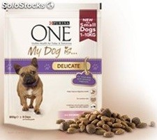 1.5KG dog is delicat purina one