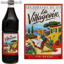 1,5L vin de table rouge villageoise