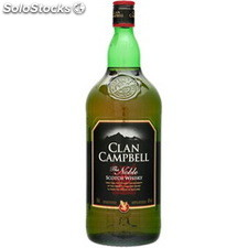 1.5L whisky clan campbell 40°