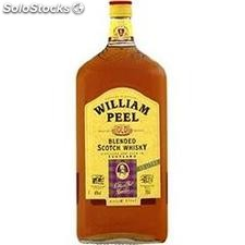 1.5L whisky william peel 40°