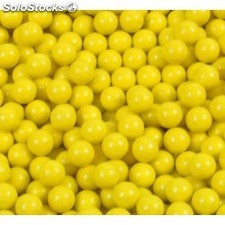 10.000 bolas amarillas de 6 mm
