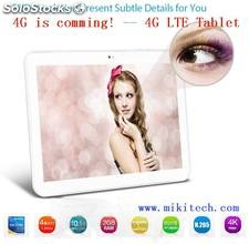 "10.1"" Tablet 4g lte ips Android 4.4.2 Miki-Pad Fabrica fornecedor acatado"