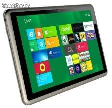 "10.1""tablet pc win7 PDAs intel n2600 dual core 4 linea capacitivo lg ips camera"