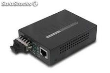 10/100Base-tx to 100Base-fx (sc) Bridge Media Converter, lfpt Supported
