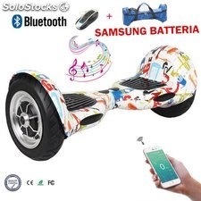 "10"" Bluetooth Scooter Self Balancing Samsung Batteria Scooter Elettrico"