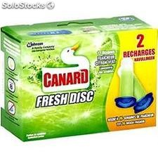 10 fresh disc recharge citron canard wc