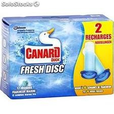 10 fresh disc recharge marine canard wc