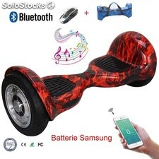 "10"" Hoverboard gyropode electric auto équilibre batterie Samsung Scooter"