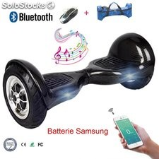 "10"" Hoverboard gyropode electric auto équilibre Scooter batterie Samsung"