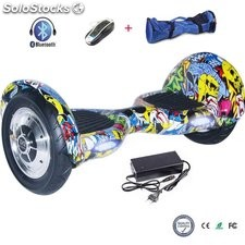 """10"""" Hoverboard Patinete Eléctrico Bluetooth Scooter Auto equilibrio"""
