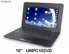 "10"" netbook/umpc/laptop/notebook android2.2 Via vt8650@800MHz 256m/4gb"