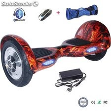 "10"" Patinete Eléctrico Bluetooth Scooter auto balance hoverboard equilibrio"