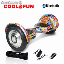 "10"" Patinete Eléctrico Bluetooth Scooter balance hoverboard Auto equilibrio"