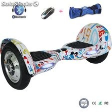 """10"""" Patinete Eléctrico equilibrio Bluetooth Scooter hoverboard auto balance"""
