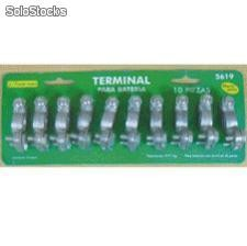 10 pc battery terminal set top post Terminal bateria 10 pzs