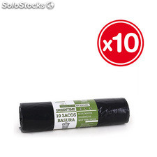 10 sacos basura 85x105-G110-100 l. Greentime eco - greentime eco - 8435133890709