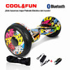 "10"" Scooter auto balance patinete eléctrico Bluetooth hoverboard Auto equilibrio"