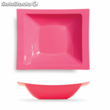 10 u. platos hondos 19,5x16,2 cm fucsia ps (12 pack)