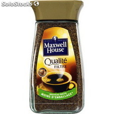 100G cafe soluble qualite filtre maxwell
