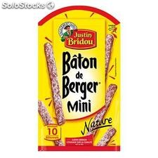 100G mini baton de berger nature justin bridou