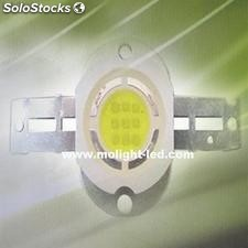 10w de alta potencia led integrado