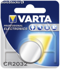 10x1 Varta electronic CR 2032 (caja interior)