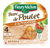 120G 4 tranches fines filet de poulet provencal fleury michon