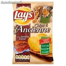 120G chips a l'ancienne jambon fume fume lay's