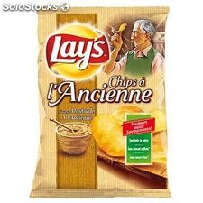 120G chips ancienne moutarde lay's