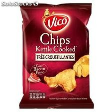 120G chips kettle cooked bacon vico