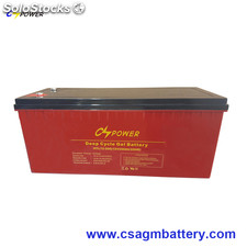 12V 200Ah High temperature Long Life Deep Cycle gel battery
