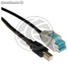 12V PoweredUSB Cable 5m (usb-bm/pusb-12V) (UC74)