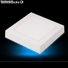 12W Luz panel LED cuadrado montaje en superficie panel LED