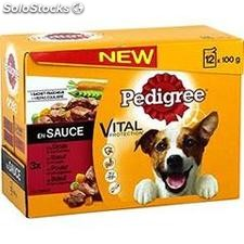 12X100G sf en sauce pedigree