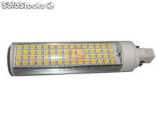 13w 5050 smd led base de luz-g24 - rotativo