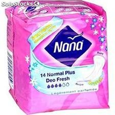 14 proteges slip ultra normale plus deo nana