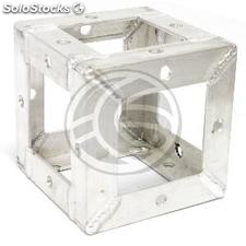 150mm silver aluminum square truss attachment hub (XT29)
