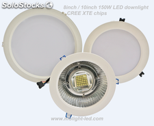 150W Downlight LED diámetro de corte 240mm/200mm 8inch/10inch 3000K/4000K/6000K