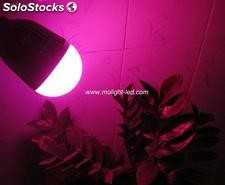 15w flor crece bombilla led, led Grow Light Bulb 12p 630nm+1p 660nm + 2p 450nm
