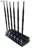 15w High Power Cell phone Jammer with 6 Powerful Antenna gps+ lojack jammer