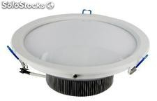 15w led Downlight 22,6 Cm. 1275Lm.aro branco