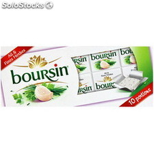 160G boursin 10 portions ail fines herbes